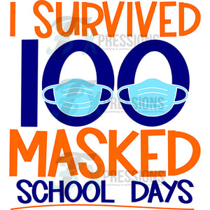 Masked 100 School Days