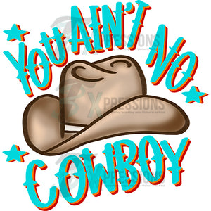 you aint no cowboy