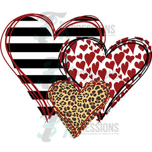 three hearts Leopard