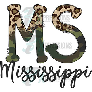 Mississippi Cheetah and Camo