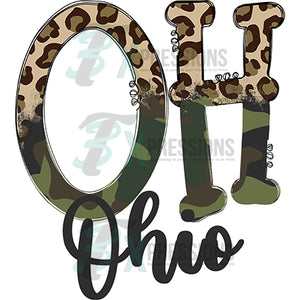 Ohio Cheetah and Camo