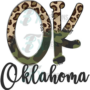 Oklahoma Cheetah and Camo