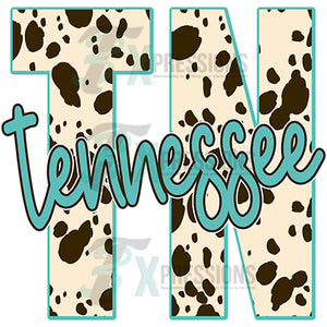 Tennessee Cow Print