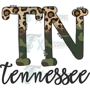 Tennessee Cheetah Camo
