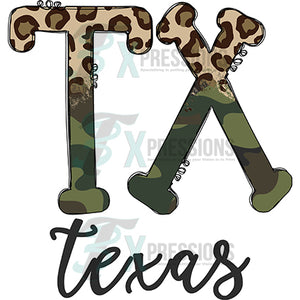 Cheetah Camo Texas