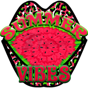 Summer Vibes watermelon mouth