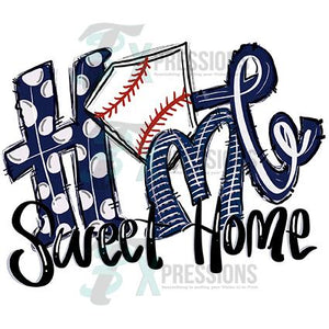 Navy Home Sweet Home Baseball