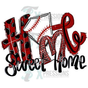 HTV Home Sweet Home Red