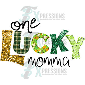 One Lucky Momma