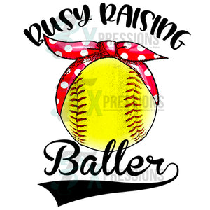 Busy Raising Ballers, Softball