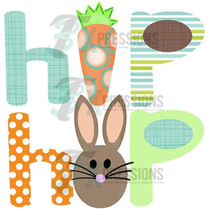 Hip Hop, Bunny and Carrot