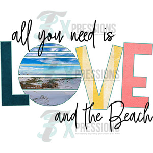 HTV All you need is Love and the Beach