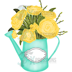 HTV Flower Watering Can