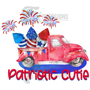 HTV Patriotic Cutie, Red Truck