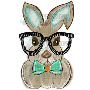 Boy Bunny With Glasses