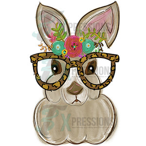 HTV Bunny With Glasses