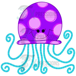 HTV Purple Octopus