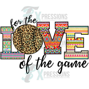 HTV For the Love of the Game Leopard
