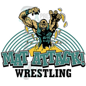 Wrestling Mat Attack