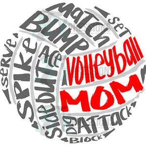 Volleyball Mom - 3T Xpressions