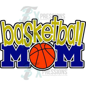 Basketball Mom - 3T Xpressions