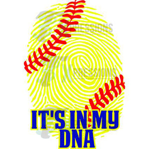 Softball It's In My DNA - 3T Xpressions