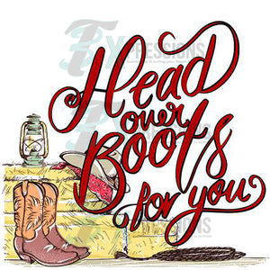 Head Over Boots For You - 3T Xpressions