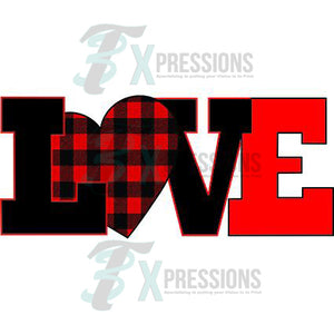 Buffalo Plaid Love - 3T Xpressions