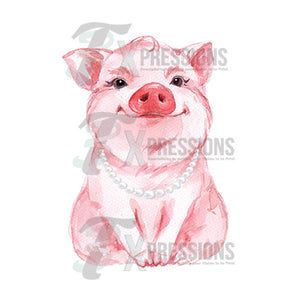 Personalized Pig And pearls - 3T Xpressions