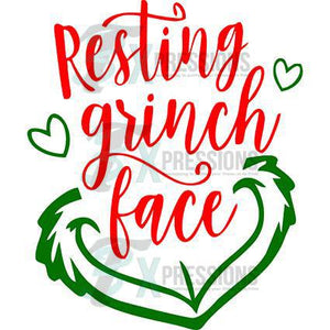 Resting Grinch Face - 3T Xpressions
