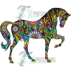 Colorful Horse - 3T Xpressions