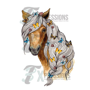 Horse Head With Braid - 3T Xpressions