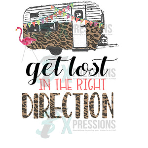 Get Lost in the Right Direction - 3T Xpressions