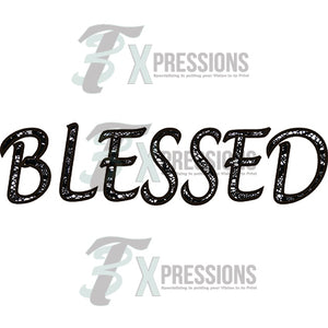 Black Lace Blessed - 3T Xpressions