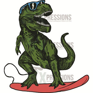 Surfing T-Rex - 3T Xpressions