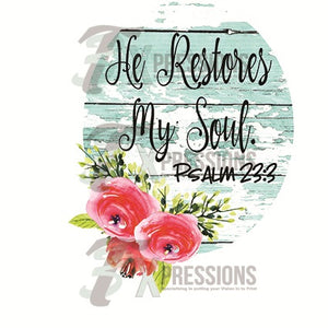 He Restores My Soul - 3T Xpressions