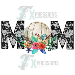 HTV Volleyball Mom Lace - 3T Xpressions