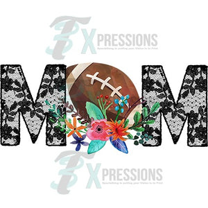 HTV Football Mom Lace - 3T Xpressions