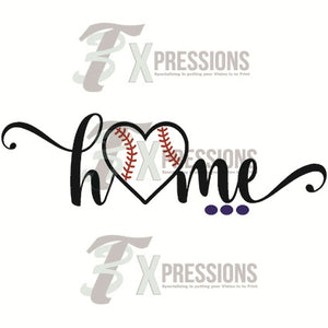 Baseball Home - 3T Xpressions