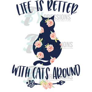 HTV Better With Cats - 3T Xpressions