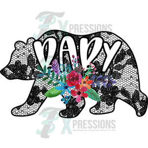 HTV Baby Bear Lace - 3T Xpressions