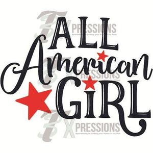 HTV All American Girl - 3T Xpressions