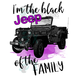 HTV The Black Jeep Of The Family - 3T Xpressions