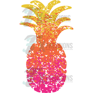 Ombre Pineapple - 3T Xpressions