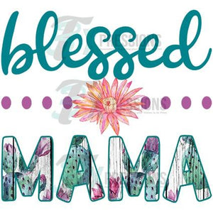 HTV Blessed Mama - 3T Xpressions