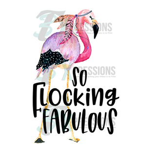HTV So Flocking Fabulous - 3T Xpressions