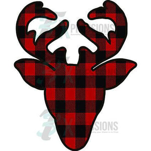 Plaid Reindeer - 3T Xpressions