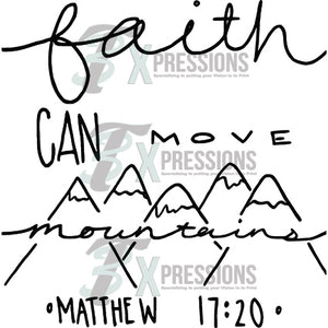 Faith Can Move Mountains - 3T Xpressions