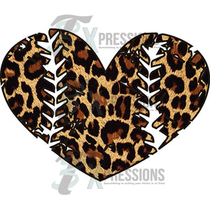 Distressed Leopard Baseball - 3T Xpressions