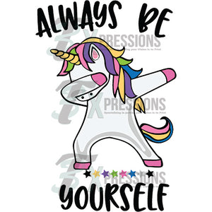 Always Be Yourself, Unicorn Dab - 3T Xpressions